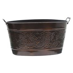 Old Dutch Antique Embossed Heritage Party Tub - 836