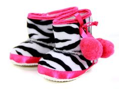 baby zebra ugg boots, so cute!