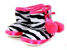 baby zebra ugg boots, so cute!