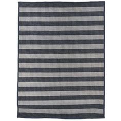 Dørmåtte - Stripe - Lys grå/Mørk grå - 90*200 cm | House Doctor