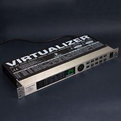 Behringer Virtualizer DSP1000 Dual Channel Multi Effects Processor Rack FX