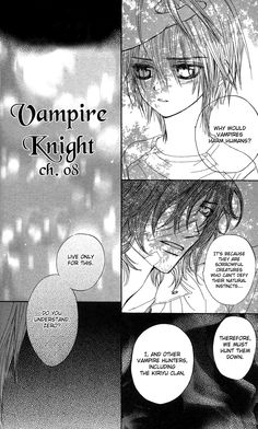Vampire Knight 8 - Read Vampire Knight Chapter 8 Page 3 Online | MangaSee