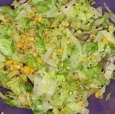Egy finom Kukoricás jégsaláta ebédre vagy vacsorára? Kukoricás jégsaláta Receptek a Mindmegette.hu Recept gyűjteményében!