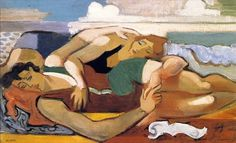 André Lhote, The Bathers, circa 1928 on ArtStack #andre-lhote #art