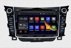 RAM 2GB HD Android 7.1 Fit Hyundai i30 2012 2013 2014 2012-2018 CAR DVD player Multimedia Navigation GPS NAVI Radio AUDIO STEREO #Affiliate