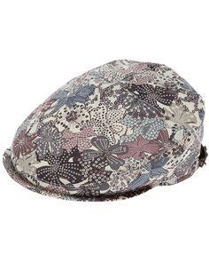 GREVI: Printed flat cap. ::cutecutecute::