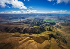 It's hard to believe that the landscape below just goes on and on and on for hours and hours and hours. New Zealand looks so small on the map, but when you are here, it's like a Tardis-country! - Tekapo, New Zealand - Photo from #treyratcliff Trey Ratcliff at http://www.StuckInCustoms.com