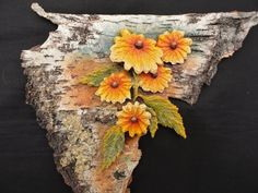Wild Flowers - Original mixed-media painting by Jack A. Birch Bark, Charcoal Drawing, Mixed Media Painting, Fine Art Gallery, Limited Edition Prints, Wild Flowers, Paintings, Texture, Art Prints
