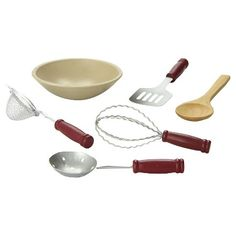 Doll kitchen dish accessories