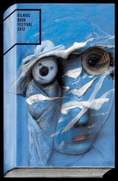 Vilnius Book Festival 2012: Eye / Not Perfect | YR, Vilnius, Lithuania (2012) / Iliustrator: Stasys Eidrigevicius