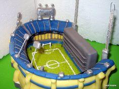 Torta estadio Boca Juniors