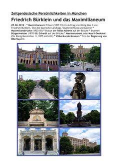 münchner spaziergänge: F. Bürklein und das Maximilianeum