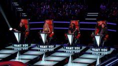 The Voice 2014 - All Blind Auditions: Team Adam, Blake, Shakira, UsherVirtual Class Media
