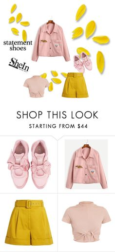 """Untitled #594"" by beautiful-723 ❤ liked on Polyvore featuring Puma and Isa Arfen"