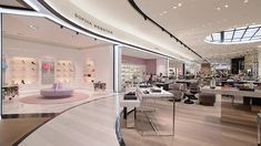 Nulty - Bloomingdale's, 360 Mall, Kuwait - Architectural Lighting Design Luxury Concessions Department Store Shoe Gallery