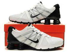 detailed look 2388d 30eee Blk wht. White Nike ShoesWhite NikesMens Nike ShoxNike MenJordans SneakersAir  Max ...