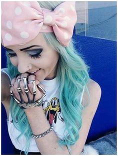 I really like the skeletal bracelet  /ring thing!