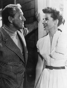 Katharine Hepburn und Spencer Tracy - 1952