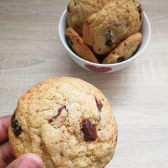Cookies chocolat noir et cranberries Entre les cookies et moihellip