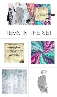 """Oh to touch  the edges of your Obscure Soul ....."" by glitterlady4 ❤ liked on Polyvore featuring art"