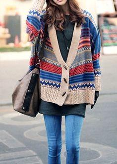 I love oversized sweaters!