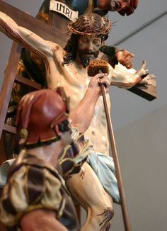 Jesusario: Sed tengo Gregorio Fernández y discípulos, 1612-1616 Cofradía de las Siete Palabras / Insigne Cofradía Penitencial de Nuestro Padre  Jesús Nazareno / Museo Nacional de Escultura  Valladolid