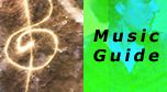 Music arranged by special interest (meditation, creativity, etc.) and by Portal/Soultype.