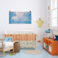 Take a minute to look at our cute blue baby room. Get more decorating ideas at http://www.CreativeBabyBedding.com
