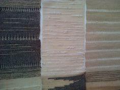 Swatches - 2012 - cotton warp, wool, linen, silk weft