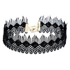 Stillness Black Lace Choker Necklace ($16) ❤ liked on Polyvore featuring jewelry, necklaces, black, circle jewelry, choker jewelry, circle necklace, choker necklace and fringe necklaces