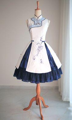Meng Lolita dress collecting addiction MAK