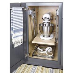Diy Kitchen Storage, Kitchen Pantry, Kitchen Aid Mixer, New Kitchen, Kitchen Ideas, Pantry Ideas, Kitchen Stuff, Updated Kitchen, Small Kitchen Decorating Ideas