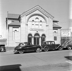 The Playhouse Theatre (also operated as a cinema under the name Amuzu Theatre) - Bathurst Street - Hobart | by Tasmanian Archive and Heritage Office