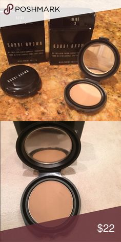 NIB Bobbi Brown foundation Never swabbed or used, brand new condition Bobbi Brown foundation! This is the .90z/2g size in Beige 3. Box slightly dented from being in makeup drawer but the product is still in perfect condition. Bobbi Brown Makeup Foundation
