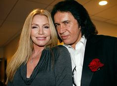 Gene Simmons & Shannon Tweed from Celebrity Weddings  After 28 years and two children together, the KISS rocker-reality star married his longtime love and Gene Simmons' Family Jewels costar at the Beverly Hills Hotel. Here's to another 28 wonderful years!