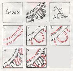 Zentangle Pattern Gallery   Zentangle/Zendoodle Patterns 2 - a gallery on Flickr