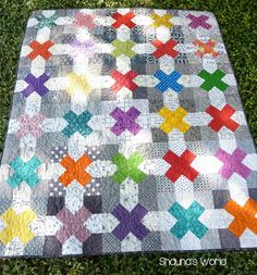 Friday Finish - Tic Tac Toe Quilt