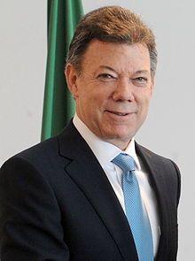 2016 COLOMBIA: Juan Manuel Santos, President of Columbia, Wikipedia, the free encyclopedia