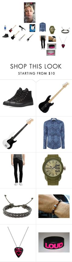 """""""Hollywood Palladium 04-19-17"""" by moniquehall-1 ❤ liked on Polyvore featuring Converse, Scotch & Soda, Kenzo, Diesel, Gravity, men's fashion and menswear"""