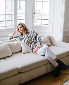 19-lookbook adenorah La Brand Boutique mariniere Leon Harper1