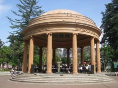 Bandstand in Park in San Jose