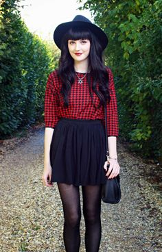 Jumper Skater Skirt with Hat