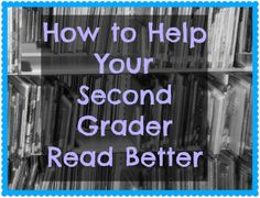 Great ideas for Second Grade Reading