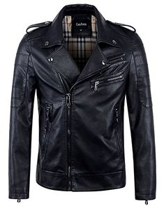 Shop a great selection of chouyatou Men's Vintage Asymmetric Zip Lightweight Faux Leather Biker Jacket. Find new offer and Similar products for chouyatou Men's Vintage Asymmetric Zip Lightweight Faux Leather Biker Jacket. Faux Leather Jackets, Leather Men, Distressed Leather, Black Leather, Mens Fashion Magazine, Jackets Online, Men's Jackets, Fashion Wear, Fashion Boots