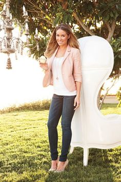 I think Lauren Conrad may be my new style icon. She has a knack for the sophisticated casual