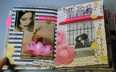 Kelly Kilmer Artist and Instructor: 5 April 2013 Journal Pages