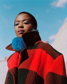 Woolrich: Ad Campaign Fall/Winter Lauryn Hill by Jack Davison Ms Lauryn Hill, Miseducation Of Lauryn Hill, Lauren Hill, Celebrity Twins, History Of Hip Hop, Jack Davison, Campaign Fashion, Beautiful Black Girl, Young Fashion