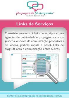 Links de serviço.