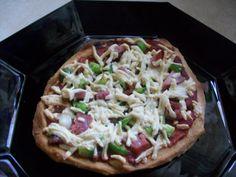 Pizza Crust (Gluten Free/ Yeast Free)