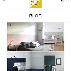 Two tone   A wall decor trend that's definitely worth a try #wall #decor#trend#colour #palette #paint #halfandhalf #fiftyfifty #inspiration #home #decor #thedesignbird #nordic #diy